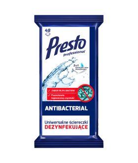 CLEANIC PRESTO ściereczki dezynfekujące 48szt x24 £2.49 pm
