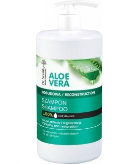 ELFA DS ALOE VERA Szampon 1000ml ceramidy roślinne,wszystkie rodzaje wł.