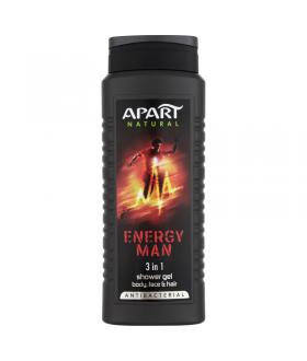 APART MEN ŻEL P/PR ENERGY 500ml