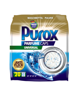 PUROX Proszek do prania PERFUME CAPS UNIVERSAL 1300g x8 PM £2.99