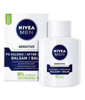 NIVEA MEN Balsam p/gol. 100ml SENSITIVE biały