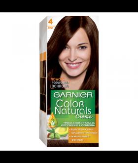 GARNIER COLOR NATURALS Farba nr 4 BRĄZ