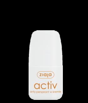 ZIAJA ACTIV Anti-perspirant 60ml. cream / roll-on
