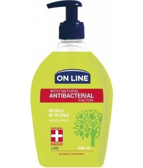 ON-LINE 500ML MYDŁO ANTYBAC.LIME