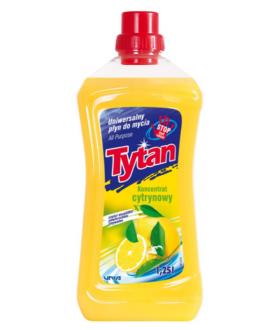 TYTAN Uniwersalny płyn do mycia cytrynowy 1250ml x8 £2.39pm