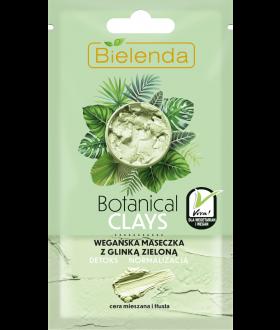 BIELENDA BOTANICAL CLAYS Maseczka glinka zielona 8g
