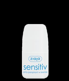ZIAJA Anti-perspirant SENSITIV 60ml. in cream / roll-on