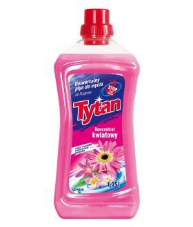 TYTAN Uniwersalny płyn do mycia kwiatowy 1250ml x8 £2.39PM