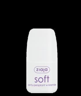 ZIAJA Anti-perspirant SOFT 60ml. in cream / roll-on