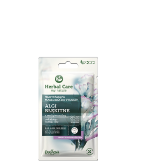 FARMONA HERBAL CARE ALGAE mask moisturizing 2x5ml