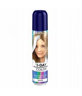 Venita 1-DAY COLOR spray 01 Sniezna biel