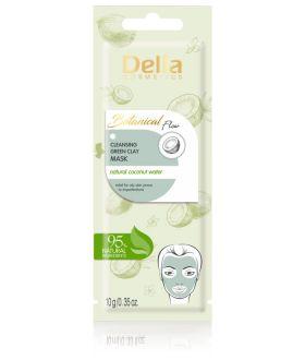 DELIA BOTANICAL Maska/twarzy oczyszczaja zielonka glinka