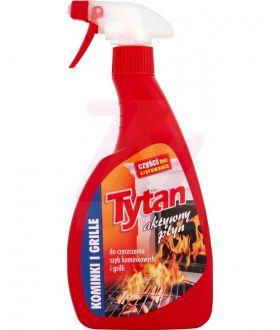 TYTAN Płyn do czyszczenia szyb kominkowych i grilli spray 500g x12 PM £2.09 (4103)