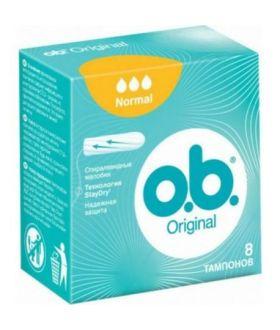 OB Tampony NORMAL 8szt x8 (4800)