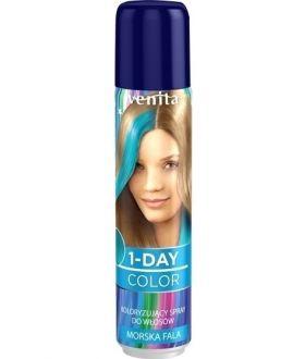 Venita 1-DAY COLOR spray 02 Morska Fala