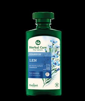 FARMONA HERBAL CARE N Shampoo Linseed 330ml. NEW COAT
