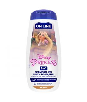 ON-LINE 400ML DISNEY 3W1 PRINCESS MUFFIN
