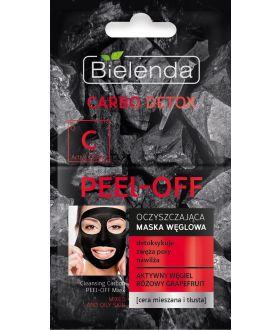 BIELENDA CARBO DETOX Mask PEEL-OFF 2x6g