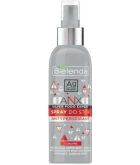 BIELENDA ANX PODO EXP. Spray d/stop antyperspirant 150ml