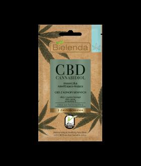 BIELENDA CBD Mask moisturizing and soothing, dry, sensitive
