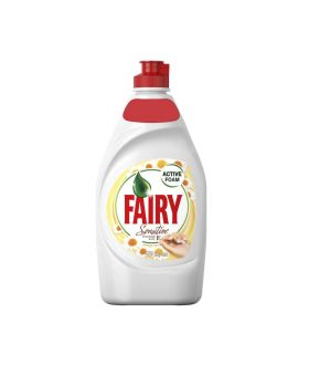 Fairy washing up liquid 450ml CHAMOMILE & VITAMIN E X21 PM £1.39