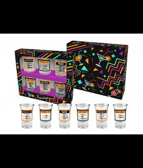 MIX&DRINK - zestaw 6 kieliszkow 35ml