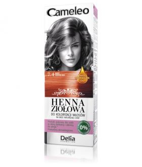 DELIA HENNA HERBAL NEW 7.4 red for hair coloring