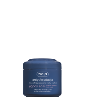 ZIAJA ACAI BERRIES moisturizing body mousse 200ml