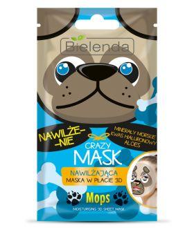 BIELENDA CRAZY MASK Mask / sheets MOPS moisturizing 1pc