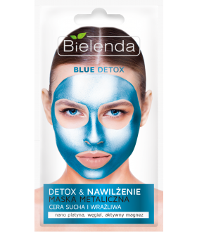 BIELENDA DETOX BLUE Mask dry and sensitive