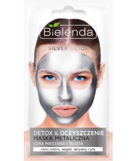 BIELENDA DETOX SILVER Mask mixed and greasy