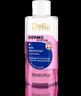 DELIA DERMOSYSTEM Two-phase fluid for demo pink / hypoallergenic 150 ml