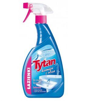 TYTAN Płyn do mycia łaz. i kabin kamień i rdza spray 500g x12 PM £2.09 (7861)