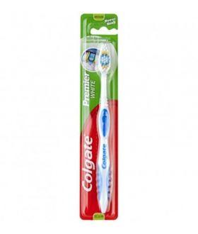 COLGATE toothbrush PREMIER WHITE MEDIUM x12