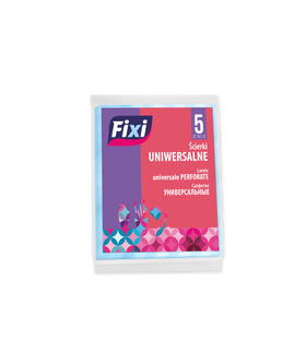 FIXI ALL PURPOSE CLOTHS 5PCS X 40 PM £0.69