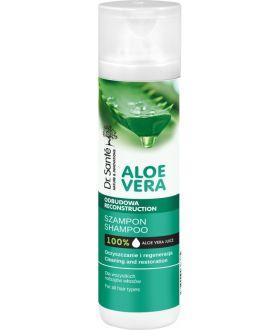 ELFA Dr. Sante ALOE VERA Shampoo 250 ml vegetable ceramides, all types incl.