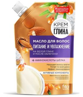 Fito Kosmetik KREM/GLINA/OLEJEK/WŁOSY ODZYW I NAWIL 100ML