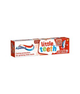 AQUAFRESH pasta little teeth  3-5  50ml x 12 pcs