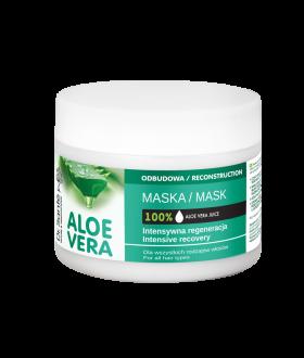 Elfa Pharm Dr. Sante ALOE VERA Maska/włosy 300ml ceramidy roslinne,wszystkie rodzaje wł.
