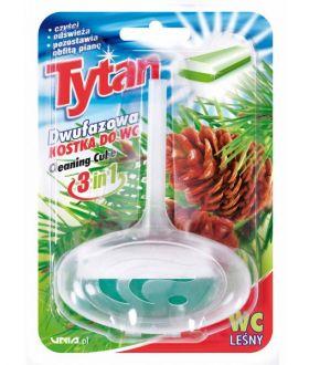 TYTAN Dwufazowa kostka do wc leśny koszyczek x24 PM £0.85 (0202)