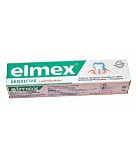ELMEX toothpaste 75ml Sensitiv zielony x12