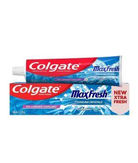 COLGATE 100ml Pasta MAX FRESH COOL MINT cooling crystals x 12 pcs (1010)