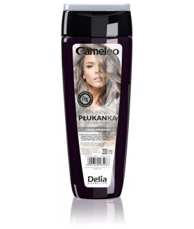 DELIA RINSE Hair 01 SILVER WITH JASMINE WATER - 200 ml bottle.