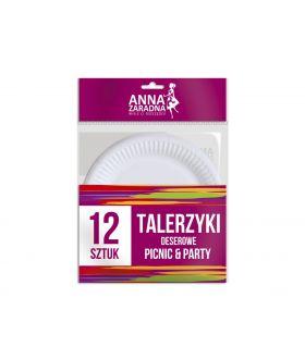 Anna Talerzyki deserowe 12szt.x22 PM £0.99 (5818)