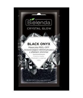BIELENDA CRYSTAL GLOW BLACK ONYX maseczka peel-off