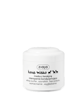ZIAJA GOAT MILK MASK FOR HAIR 200ml conditioning