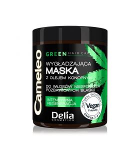 DELIA CAMELEO-GREEN Z OLEJEM KONOPNYM maska do włosów słoik 250ml