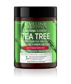 EVELINE BOTANIC EXP.TEA TREE Kr/Twarz Detoks Matujący