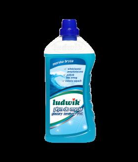 LUDWIK Płyn do mycia glazury, terakoty, PVC 1L x6 PM £1.79