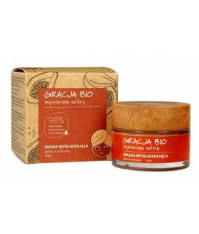 MIR GRACJA BIO Maska wygładzająca 50ml glinka kaolinowa